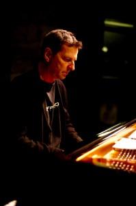 François Bourassa au piano