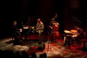 François Bourassa Quartet sur scène
